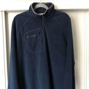 Columbia-Fleece. Pullover half front zip